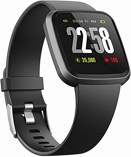 Amazon.com: H4 Fitness Health 2 en 1 reloj inteligente para ...