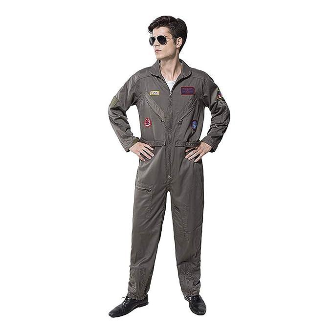 Amazon.com: Top Gun - Disfraz de aviador para hombre: Clothing