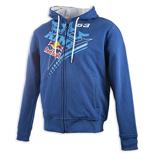 Kini Red Bull Zip-Hoody Ribbon Blau Gr. L