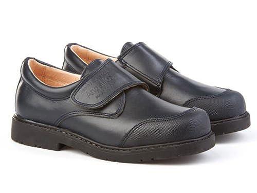 ANGELITOS Zapatos Colegiales con Puntera Reforzada Todo Piel, Mod.452. Calzado Infantil (