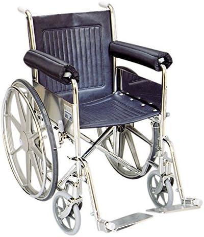 SkiL-Care Wheelchair Armrest Cushions, Full Arm, 16 inch, pair