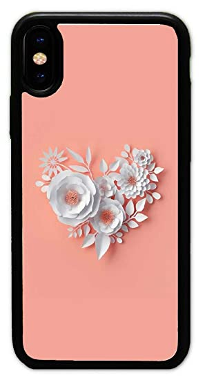 Amazon Com Iphone X Case Custom Flower Wallpapers Hard