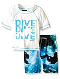 Big Chill Boys' Dive Rash Guard Swim Set