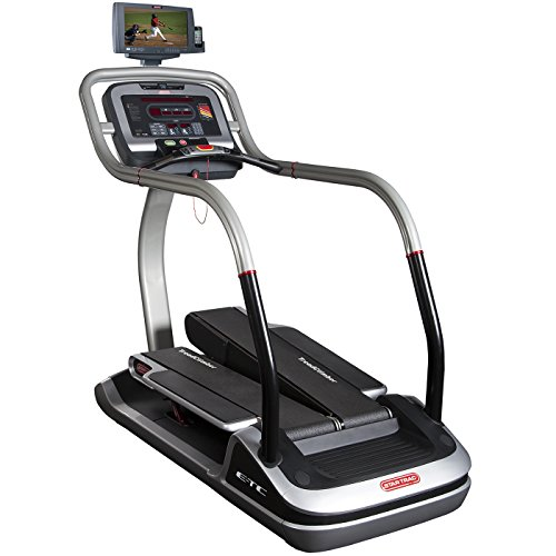 Star Trac E-TCi TreadClimber with Personal Viewing - Exercise Equipment Treadclimber