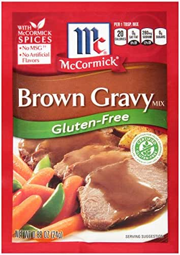 Sauces & Marinades: McCormick Gravy Mix Gluten Free