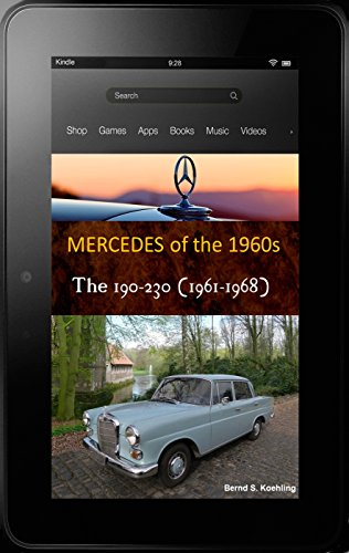 190c, 200, 230 W110 Fintail with buyer's guide and chassis number, data card explanation: From the 190c to the 230 and IMA Universal Mercedes-Benz