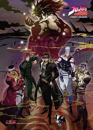 Great Eastern Entertainment Jojo's Bizarre Adventure Wall-Decor-Stickers