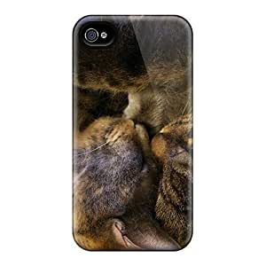 Excellent Iphone 4/4s Case Tpu Cover Back Skin Protector Snuggles