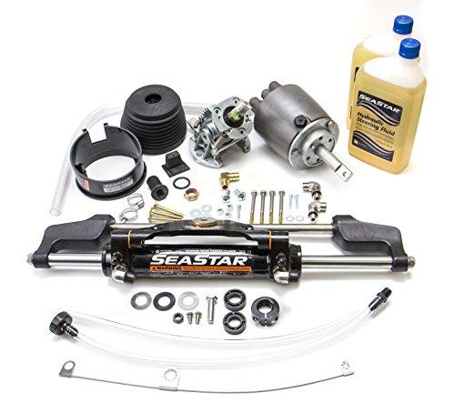 SeaStar HK6400TS-3 1.7 Sport Tilt, Marine Hydraulic Steering Kit (Without (Seastar Sport Tilt Helm)
