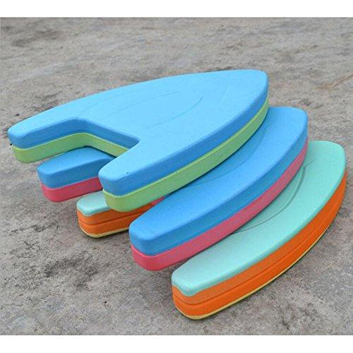 Dongcrystal Swimming Kickboard - Swimming Board Pool Training Aid Float Board Foam (Color may vary)