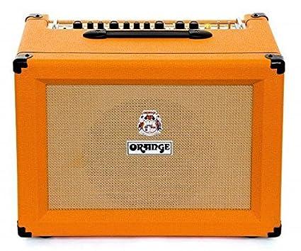 amazon com orange crush cr60c 60w 1x12 guitar combo amp orange rh amazon com Small Guitar Amplifier 60w guitar amp