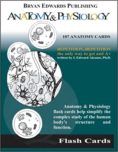 Anatomy & Physiology (Flash Cards): 8601415642780: Medicine & Health ...