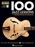 100 Jazz Lessons: Lehrmaterial, CD für Gitarre (Guitar Lesson Goldmine)
