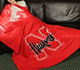 Nebraska Cornhuskers NCAA Fleece Throw Blanket by Northwest