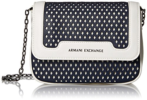 Crossbody 01538 Perforated A Exchange Small Armani X Bag RXq8Z