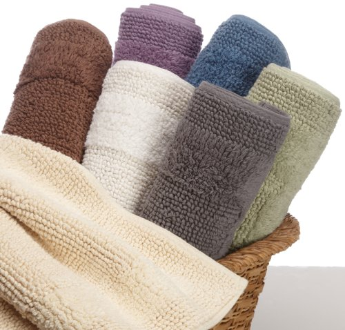 Elegant Amazon.com: Pinzon Luxury Reversible Cotton Bath Mat   30 X 50 Inch,
