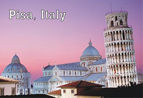 Leaning Tower of Pisa, La Torre de Pisa, Italy, Bell Tower, Souvenir Magnet 2 x 3 Photo Fridge Magnet