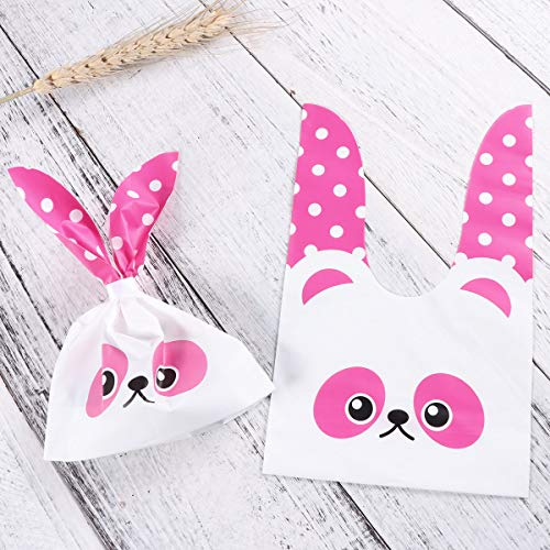 Cadeau D'emballage 50pcs Candy Sacs Cookie Dessert Yeahibaby Bunny Party Lovely Favors EqwPn5