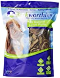 Barkworthies Lamb Lung Chews In Bag, 1-Pound
