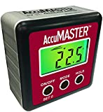 Calculated Industries 7434 AccuMASTER 2-in 1 Magnetic Digital Level and Angle Finder/Inclinometer / Bevel Gauge, Latest MEMs Technology, Certified IP54 Dust and Water Resistant