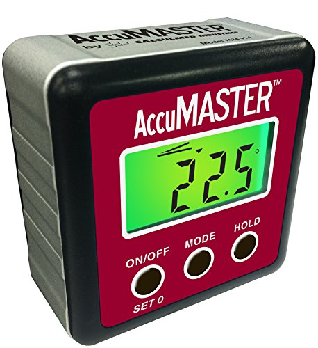 Calculated-Industries-7434-AccuMASTER-2-in-1-Magnetic-Digital-Level-and-Angle-Finder-Inclinometer-Bevel-Gauge-Latest-MEMs-Technology-Certified-IP54-Dust-and-Water-Resistant