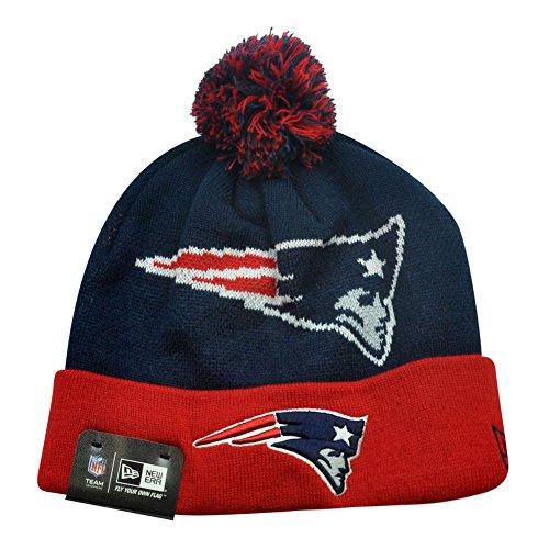 New Era NFL New England Patriots The Woven - New Era 2014 Patriots Knit Hat