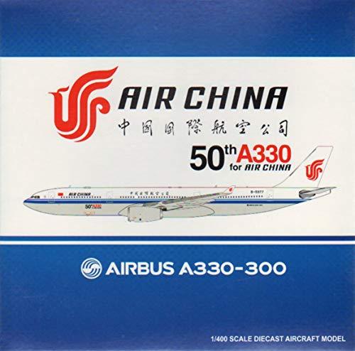 - JC Wings JCW4952 1:400 Air China Airbus A330-300 Reg #B-5977 '50th A330 Air China' (pre-Painted/pre-Built)