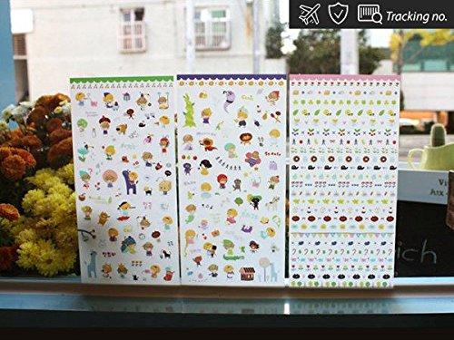 yum-nom-wonderland-stickers-marker-memo-flag-sticky-note-index-tab-3-sheets