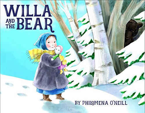 Willa and the Bear (Girl With Red Hair And Blue Eyes)