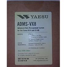Yaesu VX-8DR Programming Software & USB Cable Set! ADMS-VX8
