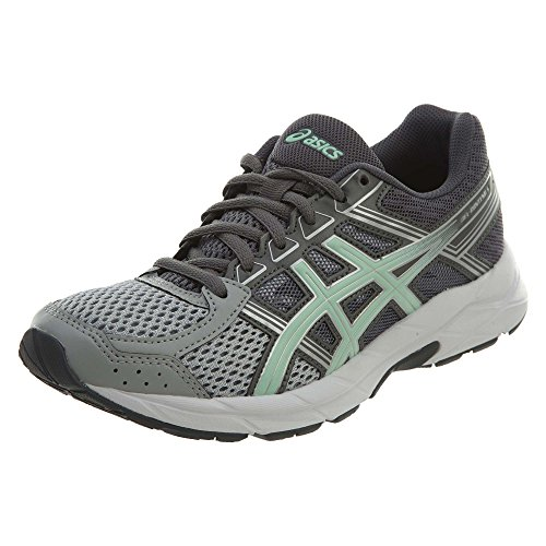 Asics Runners Gel (ASICS Womens Gel-Contend 4 Running Shoe, Mid Grey/Glacier Sea/Silver, 7 Medium US)