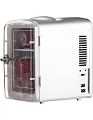Smad Thermoelectric Cooler and Warmer 6 Can for Home, Office, Car or Boat,Silver