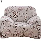 PlenTree Patoral treth ofa nit Over ae Floral Printed lipover Home Deor: 7