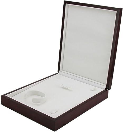 SHISHANG Joyería de caja de joyería de alto grado colgante, caja ...