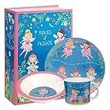 Fairies and Friends 3 piece Melamine Children's Set