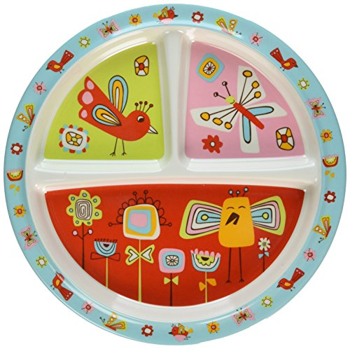 Sugarbooger Divided Suction Plate, Birds & (Sugar Booger Divided Suction Plate)