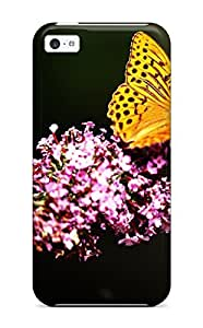 Series Skin Case Cover For Iphone 5c(butterfly In Botanic Garden)