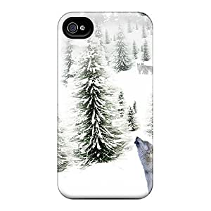 Iphone 4/4s Case Cover With Shock Absorbent Protective UGU566oRBI Case
