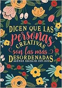 Amazon.com: Dicen que las personas creativas son las más ...