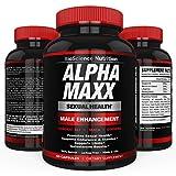 AlphaMAXX Male Enhancement Supplement - Ginseng, Muira Puama, Tribulus - 60 Herbal Pill - BioScience Nutrition - 51CRcQxw7NL - AlphaMAXX Male Enhancement Supplement – Ginseng, Muira Puama, Tribulus – 60 Herbal Pill – BioScience Nutrition