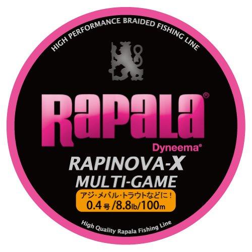 ライン:ラパラ ラピノバX0.4号