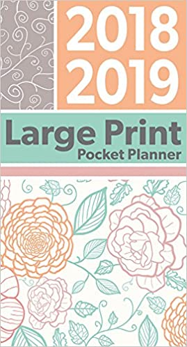 large print 2018 pocket planner