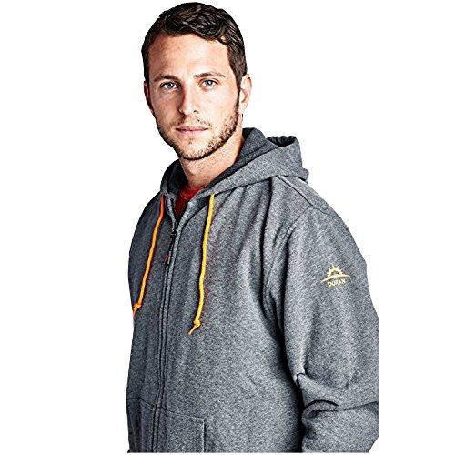 Duran 5V/2A Hooded Heated Jacket: Performance Full-Zip Hooded Fleece Sweatshirt (hoodie) - Holiday Gift, Medium