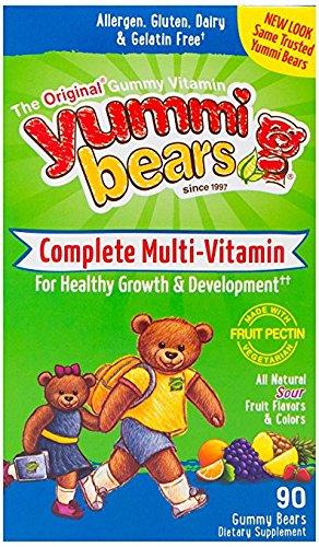 Yummi Bears Vegetarian Gummy Vitamins for Kids