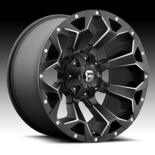Fuel Offroad D546 Assault 18x9 6x135/6x139.7 -12mm Black/Milled Wheel Rim