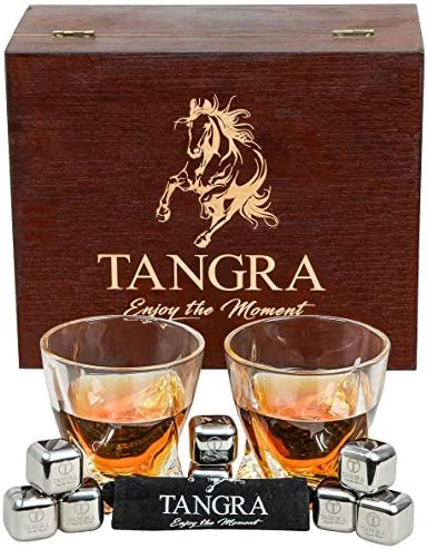 Whiskey Stainless Cubes Reusable Chilling TANGRA product image