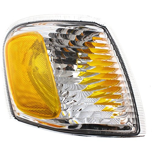 Corner Light compatible with Ford Explorer Sport Trac 01-05 Corner Lamp RH Lens and Housing Right Side
