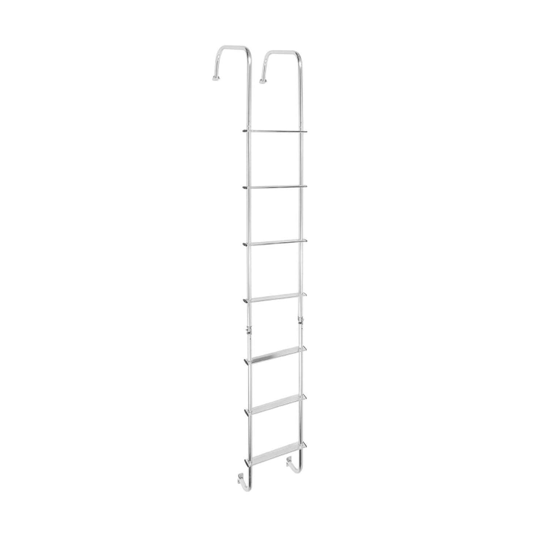 Stromberg Carlson 0139.2100 Silver LA-401 Universal Exterior RV Ladder
