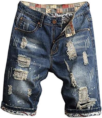 (グードコ) 夏 ジーンズ メンズ ハーフパンツ デニムパンツ ショート丈 短パン ダメージ ジーパン ボトムス 個性