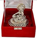 Lavanaya Silver - Silver Plated Antique Finish Laddu Gopal God Idol Exclusive Gifts For Diwali, Corporate Gift, Wedding Return Gift, House Warming